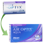Air Optix Aqua Multifocal 6er Box