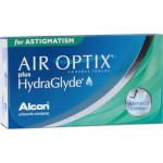 Air Optix plus HydraGlyde for Astigmatism 3er Box