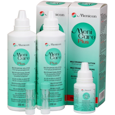 Meni Care Plus Vorteilspack (2x250ml + 1x50ml)