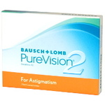 PureVision 2 for Astigmatism 3er Box