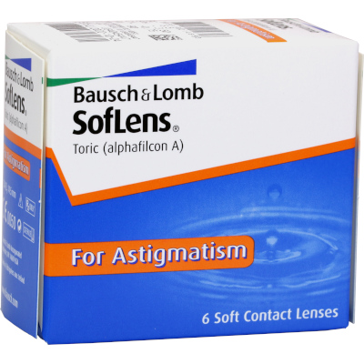 Soflens Toric for Astigmatism 6er Box